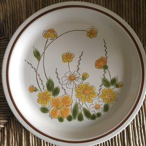 """Vintage Camelot """"Spring Meadow"""" platter"""